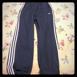 Men's Adidas Joggers Dark Grey Small w/Drawstrings